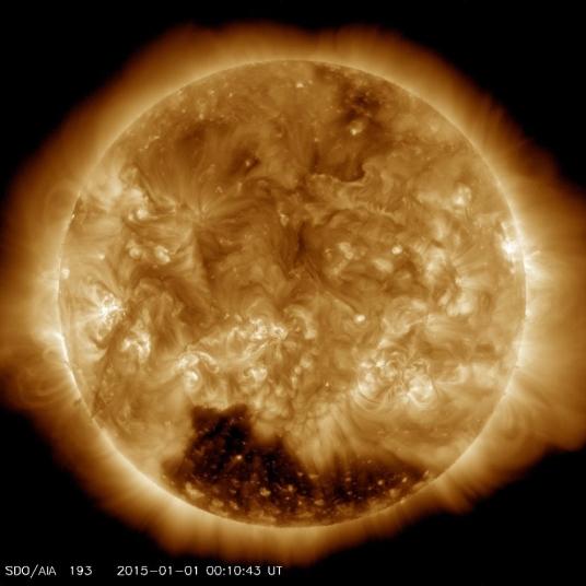 Sun on jan 1